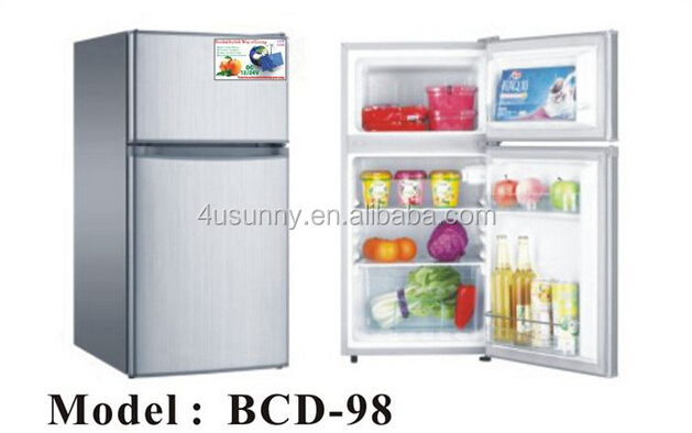 2017 new model 95L 12V 24V solar refrigerator fridge freezer