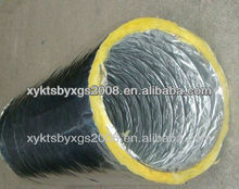 Double Layer Flexible Aluminium Insulated & Non-insulated Air Flexible Duct(GLass Wool) OEM