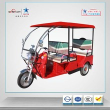 3 Wheel rickshaw for passenger with ABS- roof /auto E-rickshaw /electric tricycle