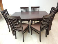 Home furniture for wooden dining room table and chair parts
