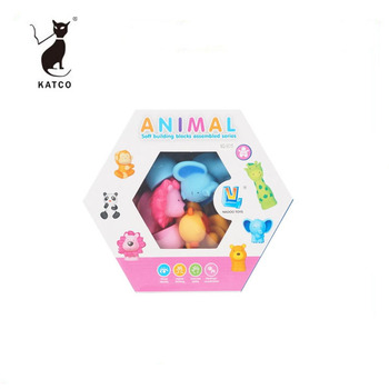 Most Popular Educational Toys Intelligence Animal Blocks Toys For Kids