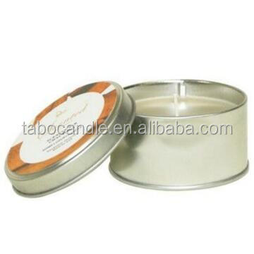 cheap natural scented soy candle in glass jar/tin with wooden/metal lids wholesale