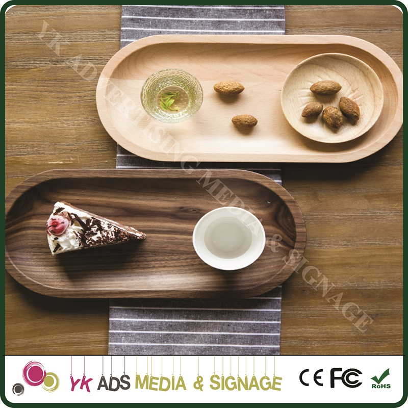 wooden unique serving trays for Home store bar