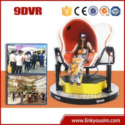 2015 newest,the most hottest hot vr 9d/360 degree platform 9d vr cinema with 3 seats/9d virtual reality cinema