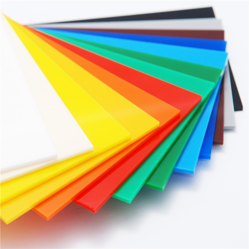 price color clear transparent plastic pmma perspex plexiglass acrylic sheet