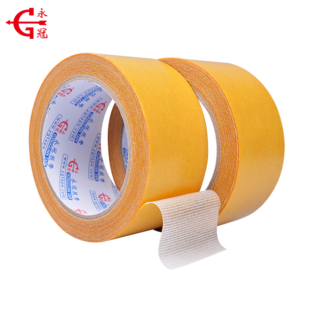 Free samples heat resistant high adhesion double sided cloth tape