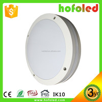 surface mounted IP65 IK10 led motion sensor hall light