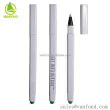 Cheap Touch Screen Stylus Promotional Logo Glue Spray Stick Pen without Clip
