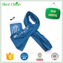 Comfortable Color Chamois Sports Towel