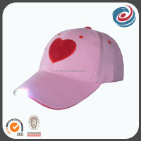 multifunctional six panels LED light cap and hat