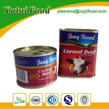 Types Canned Food Products Corned Beef