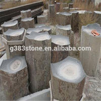 2015 new product hot sale natural stone basalt,colored basalt