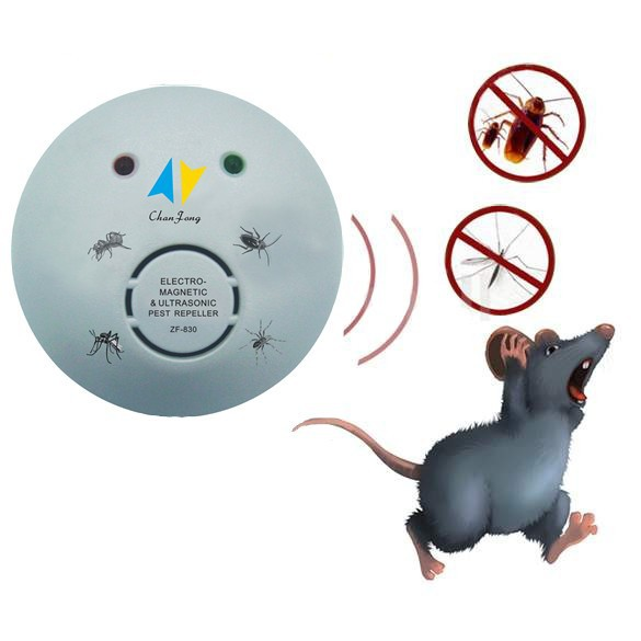 Ultrasonic Electronic pest Repellent Mouse Insect Cockroach pest control