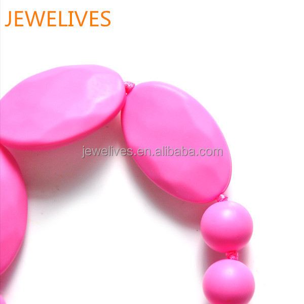 Novelty baby product silicone teething beads for baby