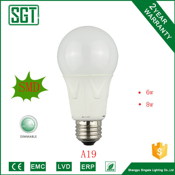 A19 dimmable magic led lamp bulb CCT2700-6500K