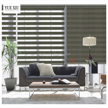 window treatments for sliding doors zebra blind curtain two layers zebra roller blind curtain