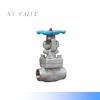 F304 Forged Steel Stem SW End high pressure Gate Valve 800lb