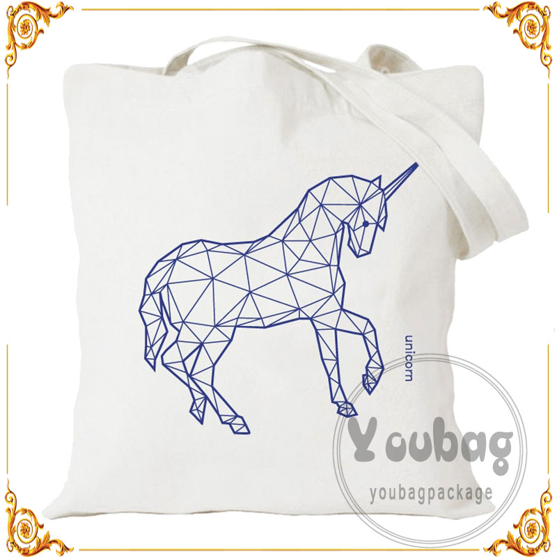 China supplier Custom cotton shopper bag with gusset made in China