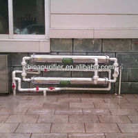 1000L UF pi water filter with stainless steel housing and ultrafiltration membrane