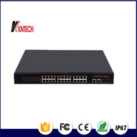 China Manufacture KNPB-24 24 port PoE 10/100/1000M managed ethernet switch/PoE Switch/10/100/1000M 8 port industrial poe switch