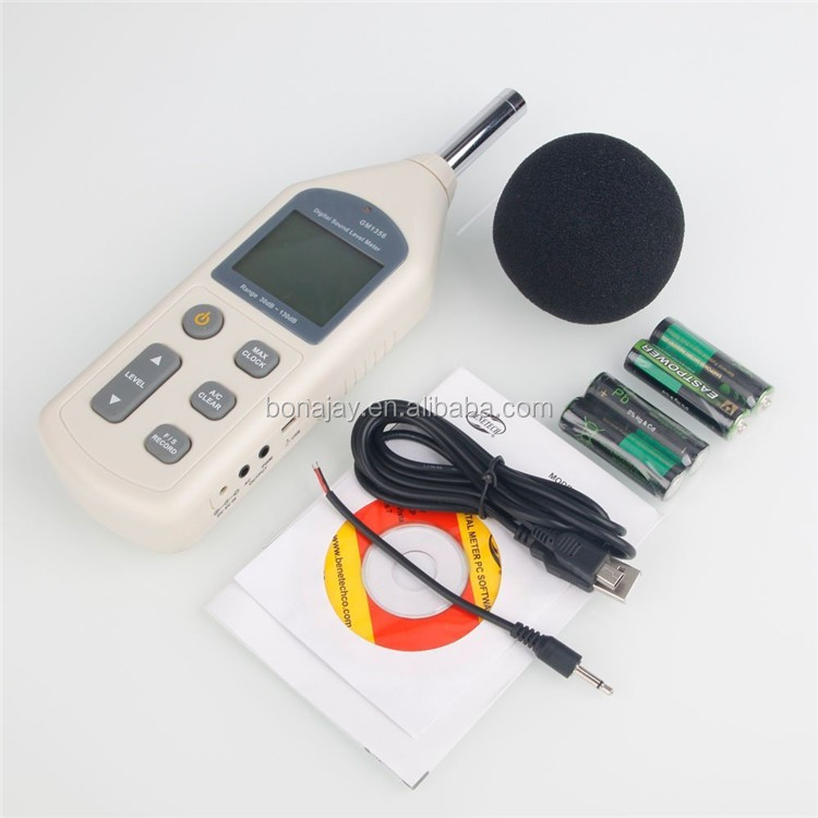 NEW Digital Sound Pressure Level Meter 30~130 dB Decibel Noise Measurement GM1356