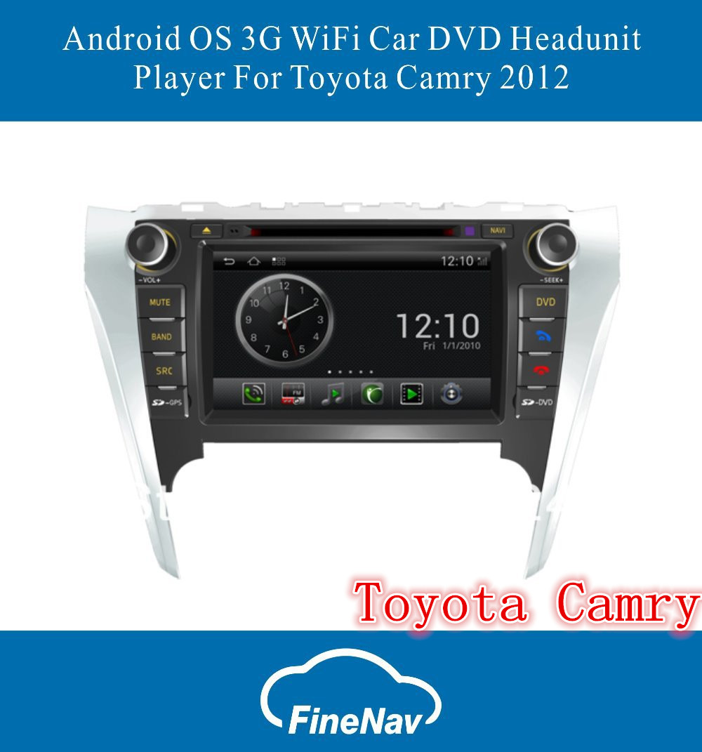 Android S150 Car Multimedia player For Toyota Camry 2012 With GPS Navigation 1GB CPU 512MB DDR 3G WiFi V-20 3-ZONE