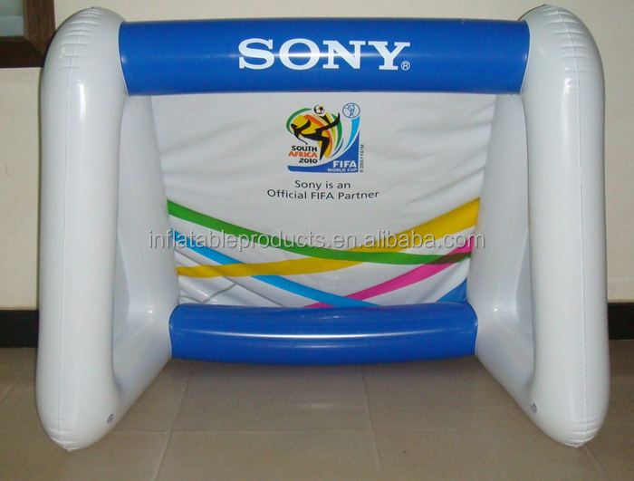 PVC Advertising Inflatable Portable Soccer/Football Goal.