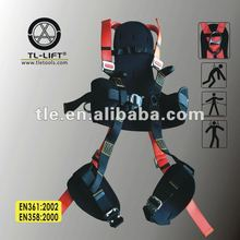 Back Support Safety Belt Attached Men's Hanging Full Body Safety Harness Made in China