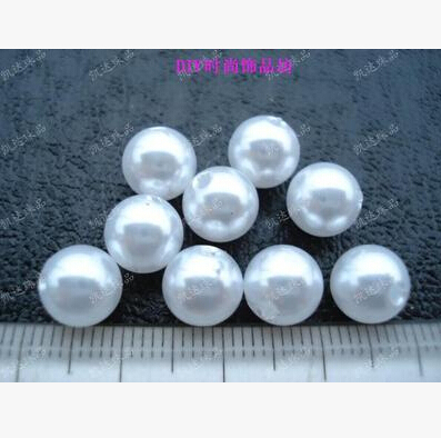 8mm 100pcs White/Beige, ABS Imitation Pearls Beads, Making jewelry diy beads, Jewelry Handmade necklace,Pearls round for crafts