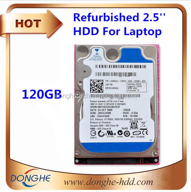 [Lots of used laptops hdd] ssd/hdd 120gb whole sale refurbished bulk used hard drives, disco duro interno