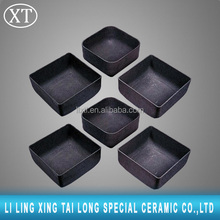 Small size and big size Refractory silicon carbide ceramic smelting crucibles