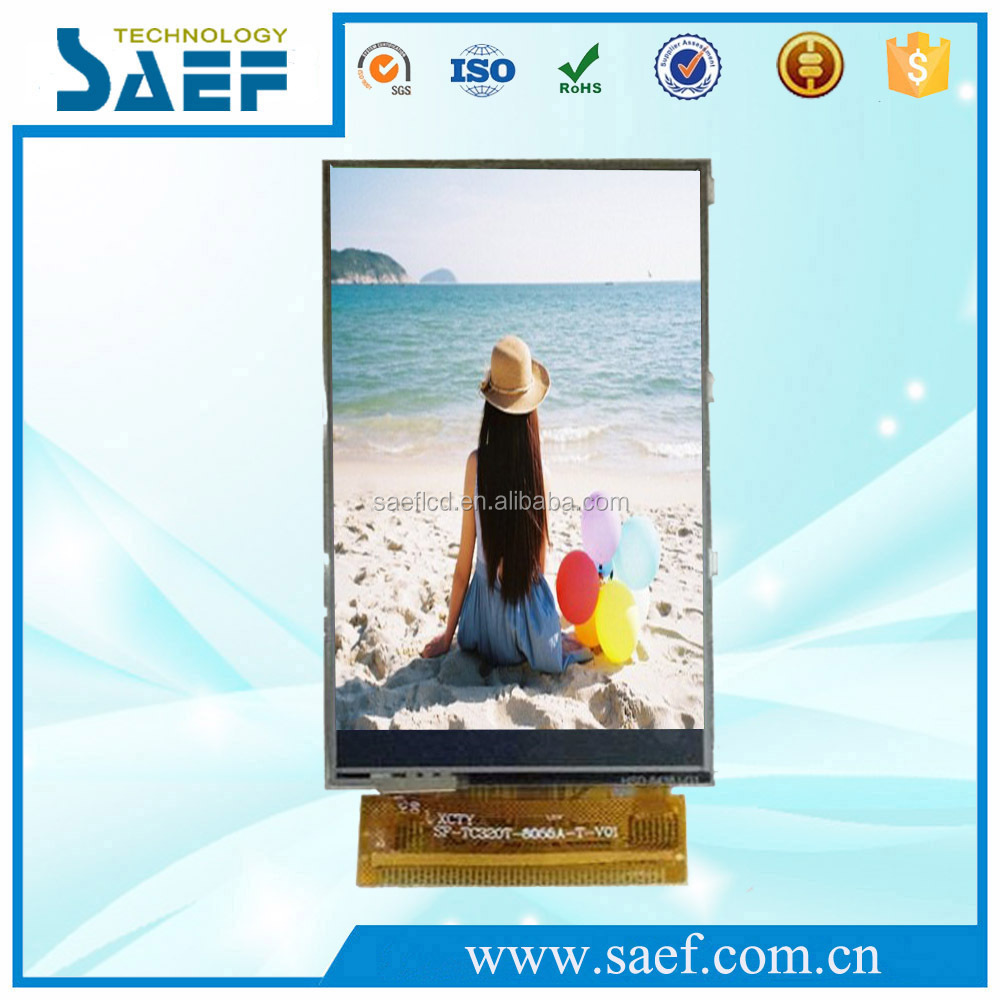 3.2 inch tft lcd hdmi monitor Vertical mode QVGA 240*400 with Touch Panel TFT