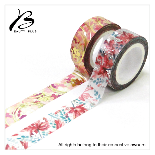 Low MOQ Christmas House Decoration Washi Tape Foil Washi Tape