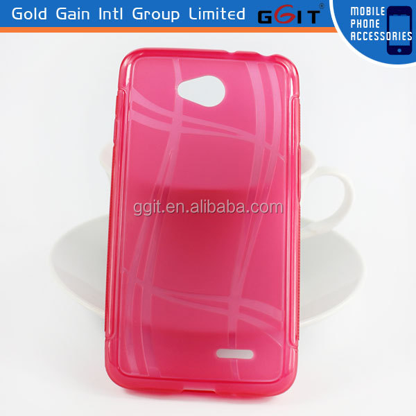 Lucky TPU Case For LG Optimus L70, For LG L70 Back Cover Case