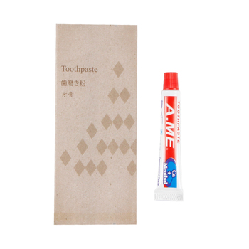 amenities for hotel and travel dental toothpaste disposable kit