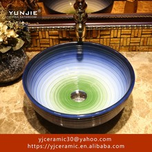 small corner shampoo wash basin ceramic sink bowl