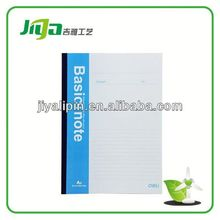 Eco-friendly desk leisure series Paper cover notebook