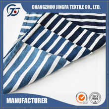 JF16171 Unique Best design blue and white striped fabric by the yard