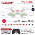 WM-F4D127C 2.4G 4 channel 6 axis gyro rc drones with camera for sale