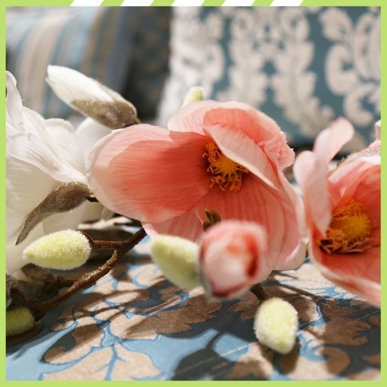 New arrival durable various magnolia high end silk flowers
