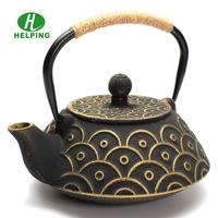 Antique cast iron teapot, Chinese thick cast iron tea pot