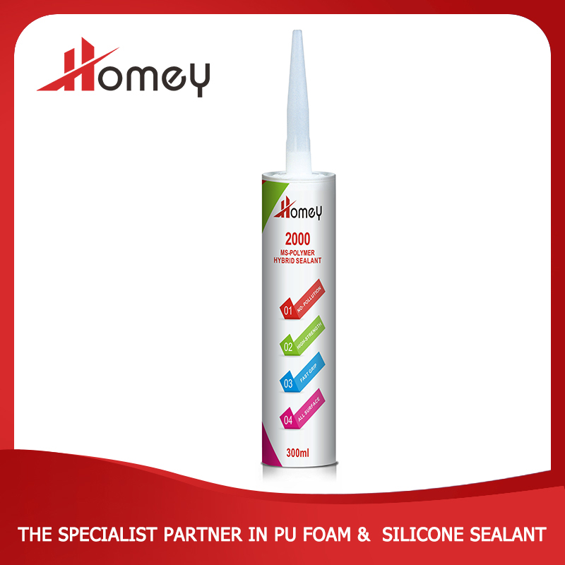 Homey 2000 ms polymer glue for pvc sheet