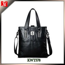 manufacturer china men sling leisure leather Messenger business tote hand bag