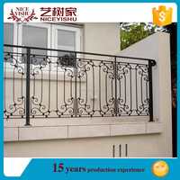 Wrought iron security fencing and gate,used wrought cheap iron fence panels