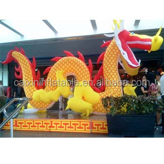 2016 new inflatable giant dragon,inflatable Chinese dragon,inflatable arch dragon
