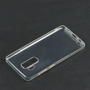 alibaba best sell Ultra Slim Soft TPU Transparent Clear cellphone Case Back Cover For Samsung Galaxy S9 S9+ opp bag packaging