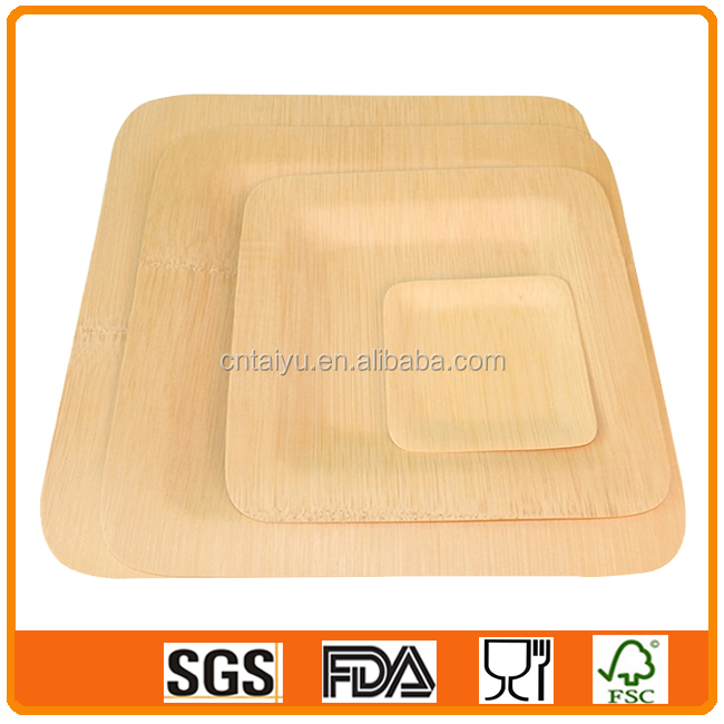 Wholesale Bamboo Charger Plates for Wedding Decoration