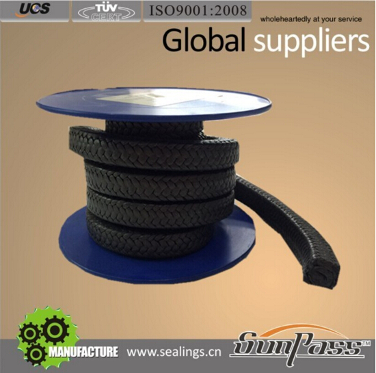 Gland Packing Material Selection Graphited Ptfe Gfo Hydraulic Seal Teflon Gland Packing Gfo Packing