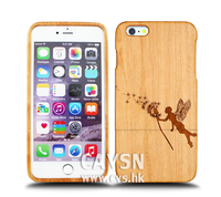 cell phone case for iphone 6 Case dandelion angel wood case
