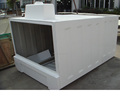 Fiberglass hand lay process gel coat finish GRP Container FRP
